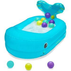 BAIGNOIRE  INFANTINO Baignoire Bébé Gonflable Baleine avec Ba