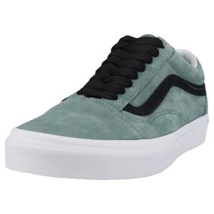 BASKET Vans Old Skool Oversized Lace Hommes Baskets Vert
