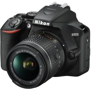 APPAREIL PHOTO RÉFLEX Kit D3500 AF-P DX 18-55VR+AF-P 70-300VR