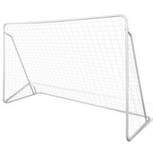 CAGE DE FOOTBALL Cage de but de football Cage de Foot 240 x 90 x 15