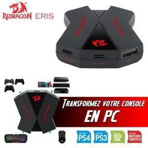 AUTRE PERIPHERIQUE USB  Convertisseur ERIS Clavier / Souris pour PS4, PS3,