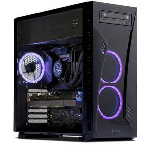 UNITÉ CENTRALE  PC Gamer, AMD Ryzen 7, RTX 2080Ti, 500 Go SSD, 3 T