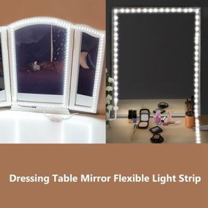 APPLIQUE  LED Lumière de maquillage, DIY 240 LEDs maquillage