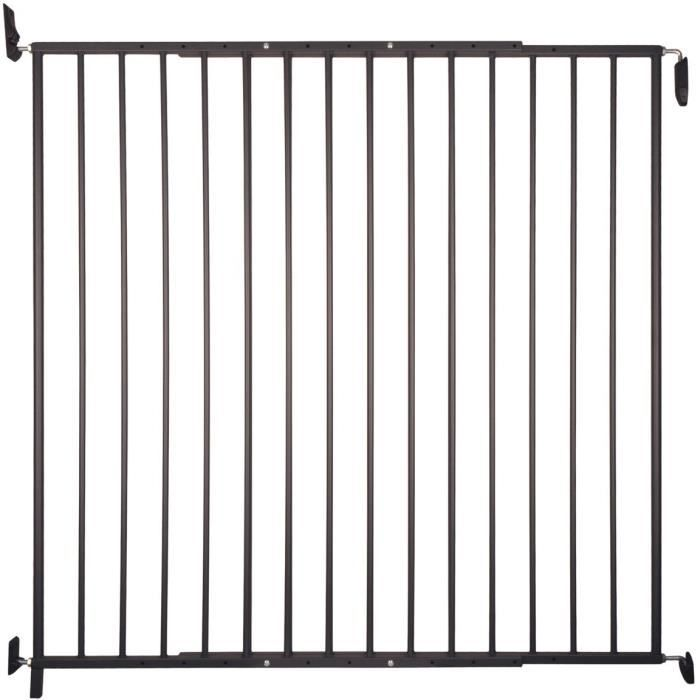 VADIGRAN Barrière d'extérieur Tom - H 105 cm - Noir - Pour chiens de grande taille