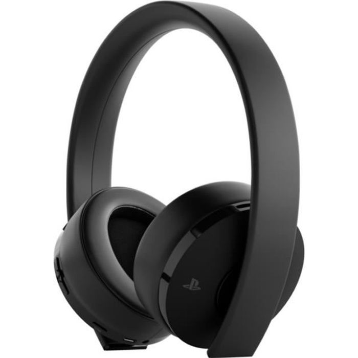 Casque Sans Fil Gold Sony Virtual Surround Sound 7.1 pour PS4 - Optimisé PS VR