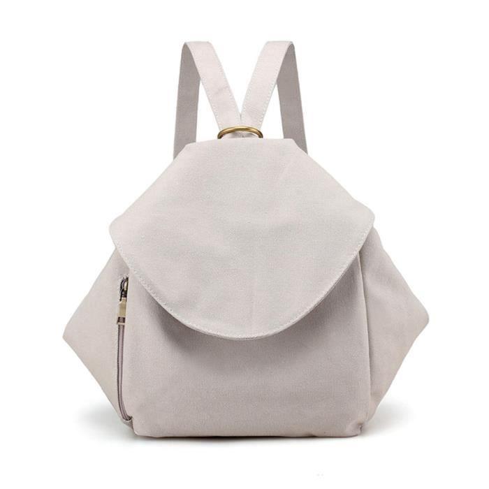 SAC A DOS Mode Simple épaule Slanted Sac à dos double sac à bandoulière sac fourre-tout # PA-2061