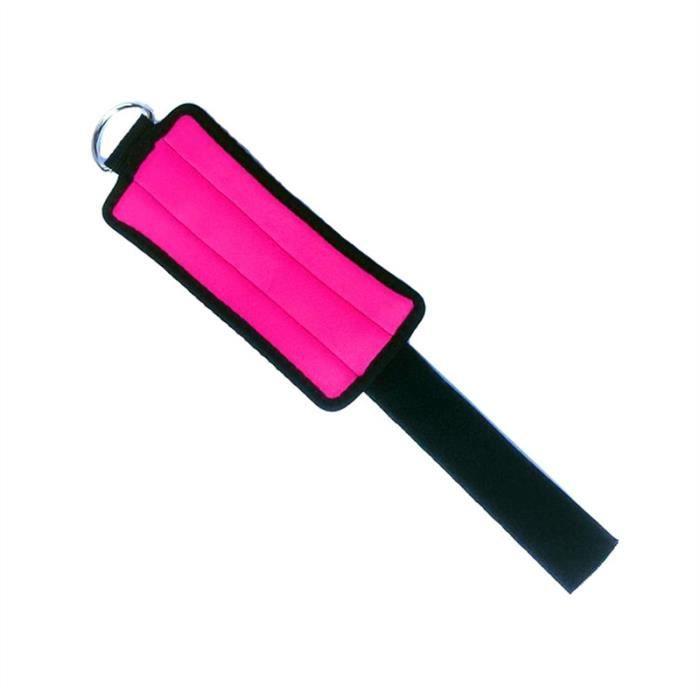 2pcs cheville - poids de poignet (rose rouge)