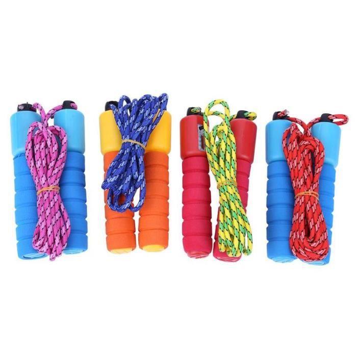 Cordes à sauter coton éponge compte corde à sauter Fitness musculation sports de plein air (couleur aléato - HSJSTSA08056