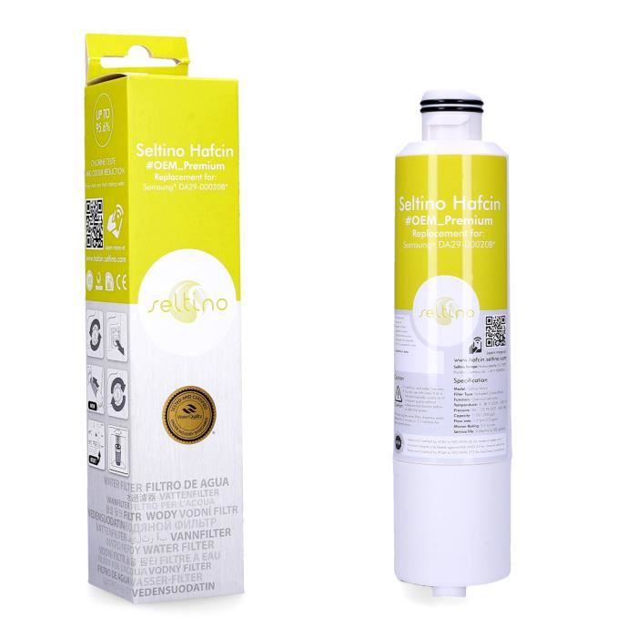 Seltino Filtre à eau, pièce de rechange pour réfrigérateur Samsung RF24FSEDBSR