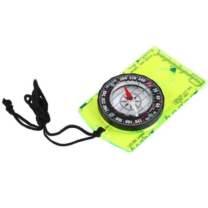 Atyhao mini boussole Compas multifonctionnel portable extérieur boussole professionnelle DC361
