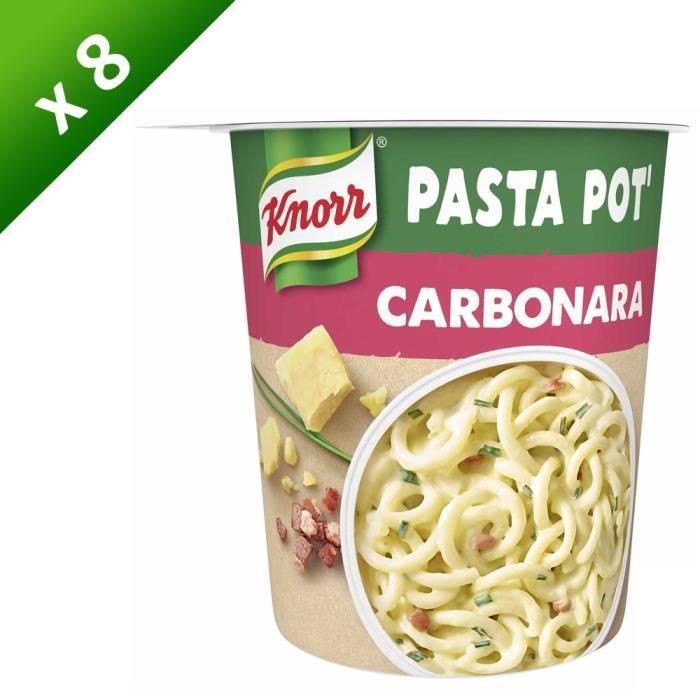 KNORR Pâtes Carbonara - Lot de 8x 71 g
