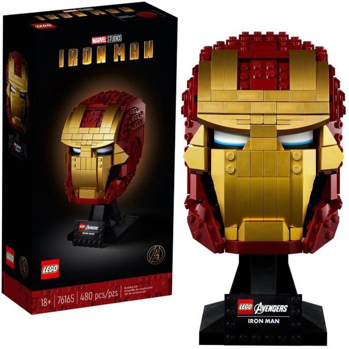 LEGO® Marvel Super Heroes™ 76165 Casque d'Iron Man