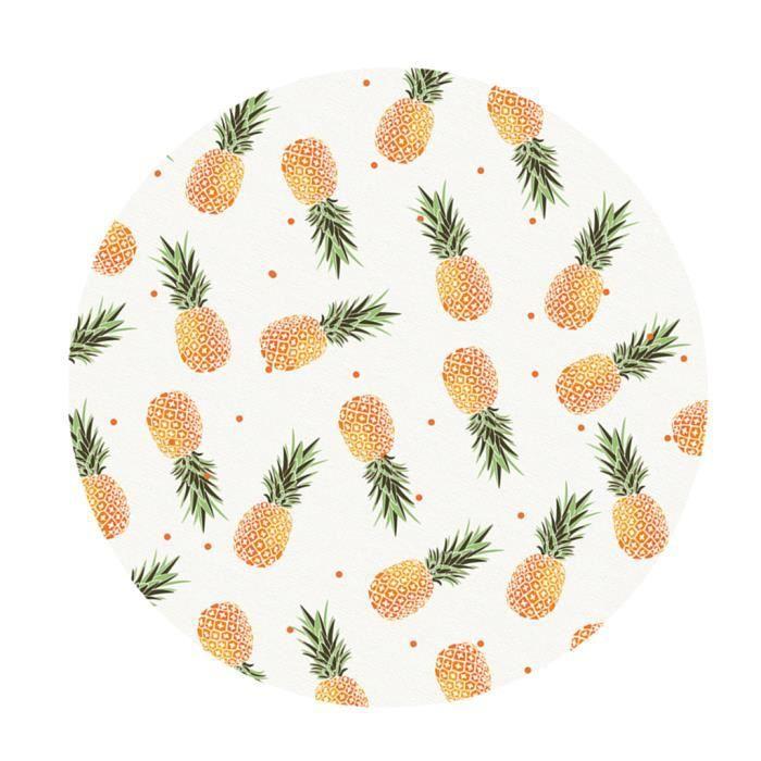 Nappe De Table en Polyester Table à Manger pour maison Café Cafe Restaurant C - 120 cm (48 pouces)