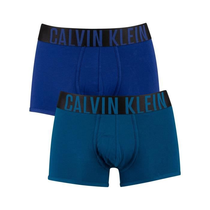 Calvin Klein Pour des hommes Lot de 2 boxers Intense Power, Multicolore