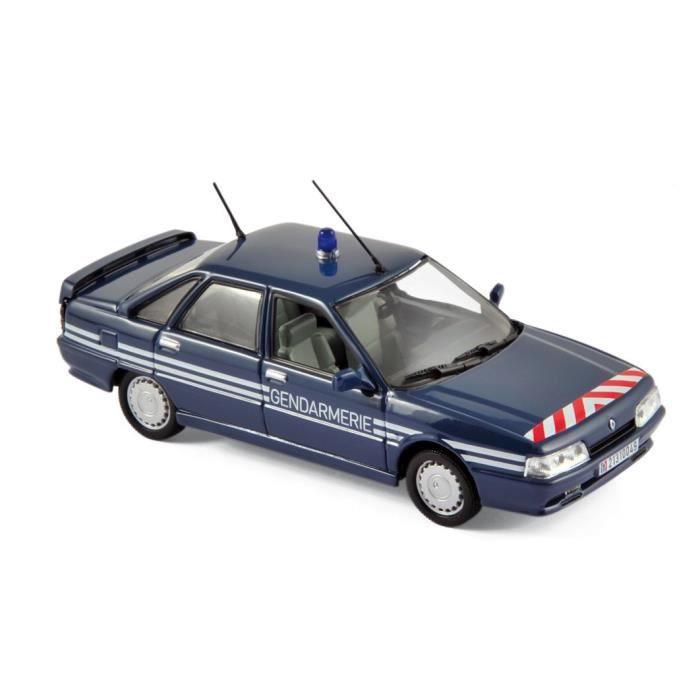 Voiture RENAULT 21 Turbo 1989 Gendarmerie NOREV 1/43