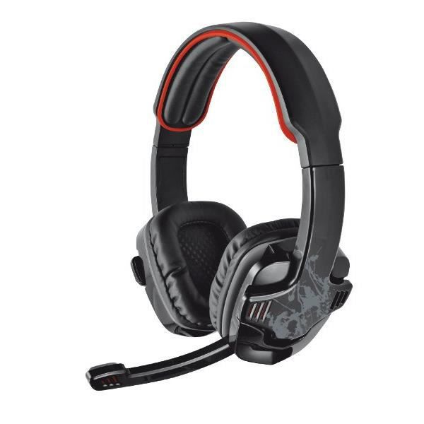 TRUST Casque Gamer GXT340 - Filaire - Surround 7.1 - PC / Mac - Noir