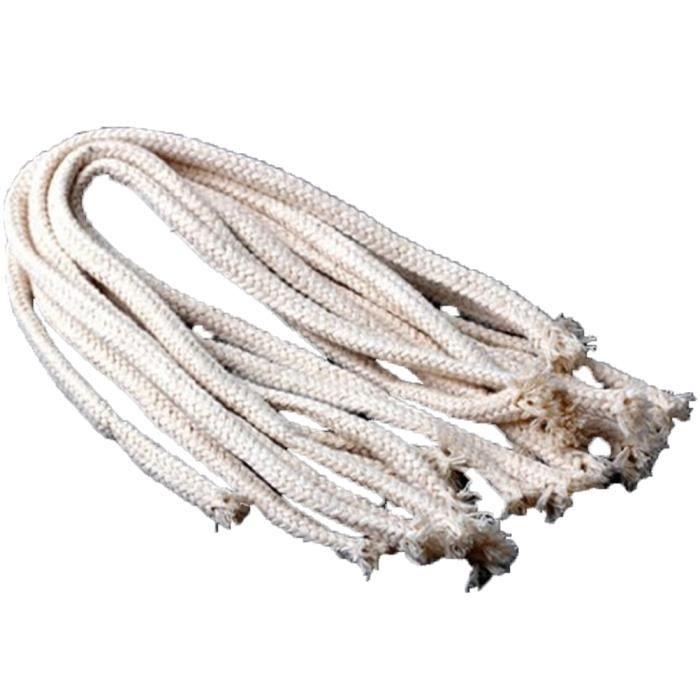 10 pièces kérosène lampe à huile mèches environ 40 cm rond utile coton corde PACK PRODUITS DE FITNESS - PACK PRODUITS MUSCULATION
