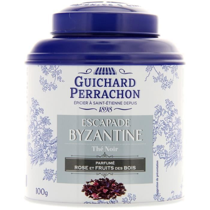 GUICHARD PERRACHON Thé noir rose aux fruits rouge - 100 g