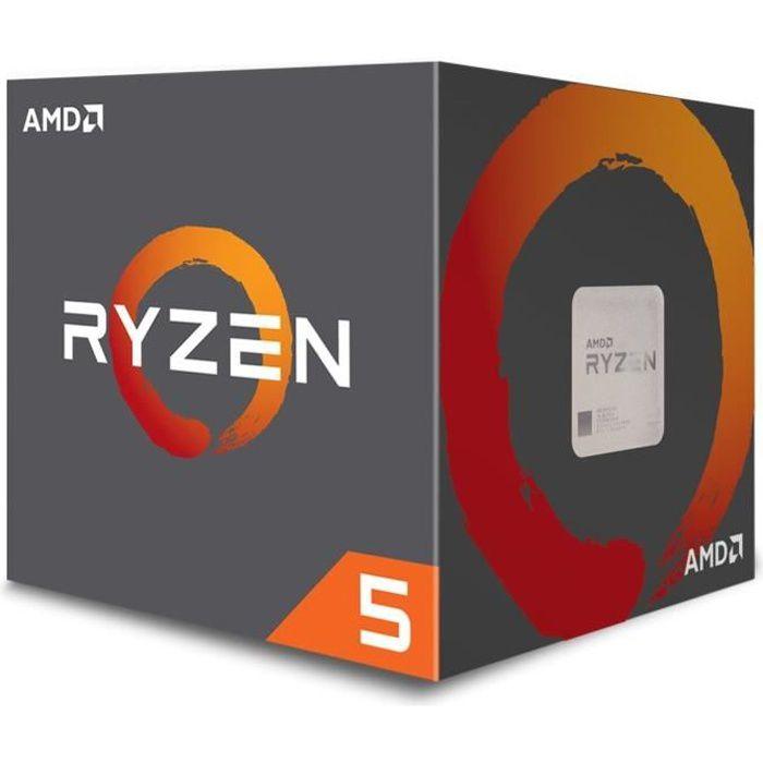 PROCESSEUR AMD Processeur Ryzen 5 2600 - ventiard Wraith Stea