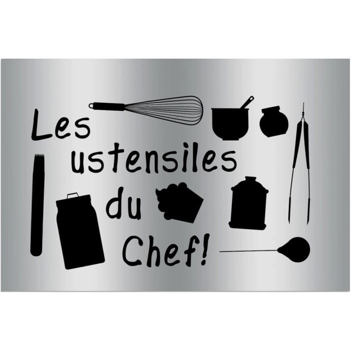 plaque sticker gourmand protection cuisine patisserie du. Black Bedroom Furniture Sets. Home Design Ideas