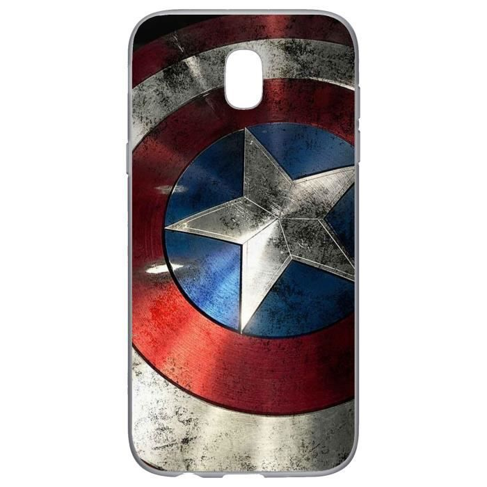 Coque Samsung J5 2017 Marvel Comics Avengers Captain America ...
