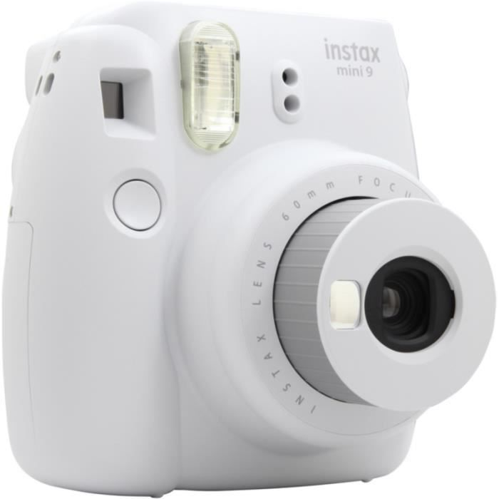 Photo de appareil-photo-instantane-fujifilm-instax-mini-9-blanc-cendre