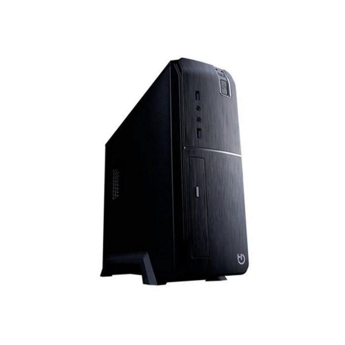 BOITIER PC  Boîtier Demi Tour Micro ATX / ITX Hiditec CHA01002