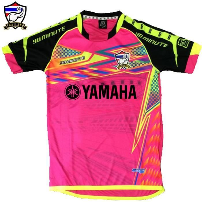maillot thailande 90 minutes yamaha rose fluo rose achat vente t shirt cdiscount. Black Bedroom Furniture Sets. Home Design Ideas