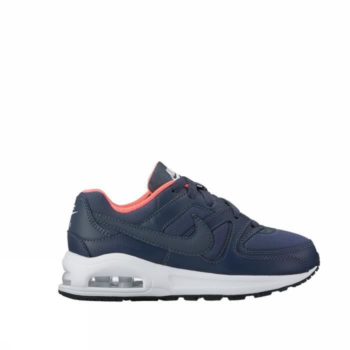 NIKE AIR MAX COMMAND FLEX PS 844350 400 MODA ENFANT Bleu Bleu ... e417c2586e85
