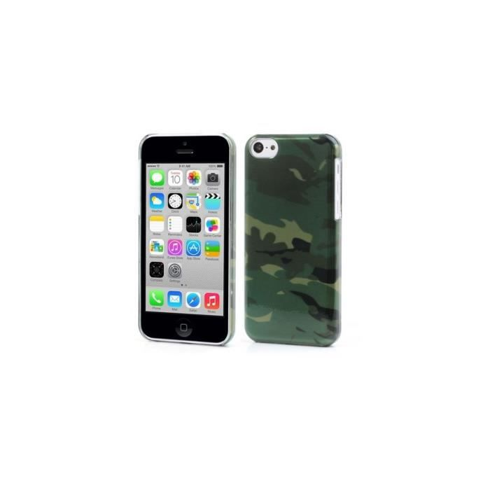 coque iphone 5c silicone army