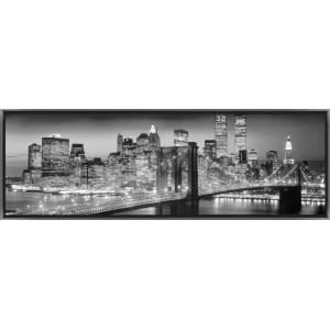 Tableau led new york c1 achat vente tableau toile soldes d t cdisc - Tableau lumineux new york ...