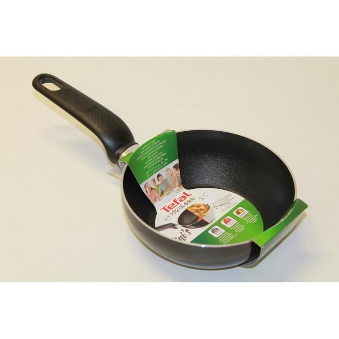 poele mini wok tefal 16cm noir a3687402 achat vente. Black Bedroom Furniture Sets. Home Design Ideas