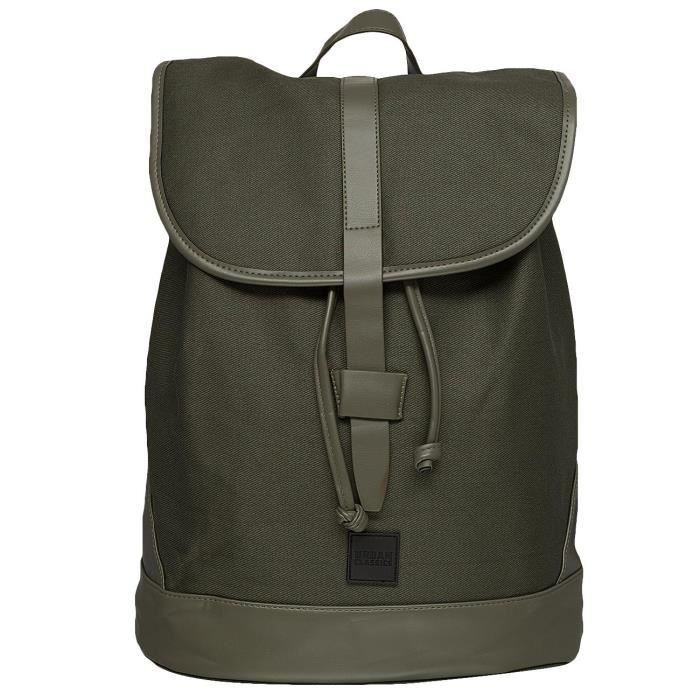 Urban Classics Homme Accessoires / Sac à Dos Topcover olive One Size