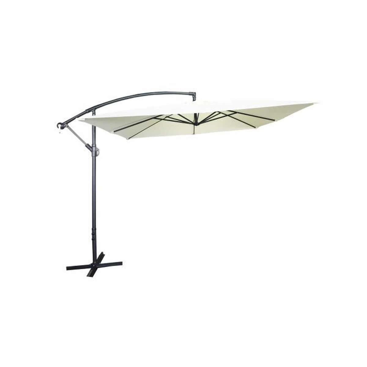 parasol 2 m achat vente parasol 2 m pas cher cdiscount. Black Bedroom Furniture Sets. Home Design Ideas