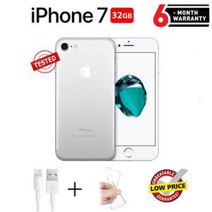 SMARTPHONE RECOND. Apple iPhone 7 Smartphone Argent 32Go - Reconditio