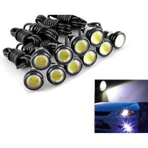 ALLUMAGE AUTO DES FEUX 10x lumière blanche de jour DC12V 9W Eagle Eye LED