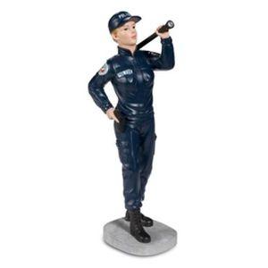 FIGURINE - PERSONNAGE POLICIERE AVEC LAMPE - Collection Police Française