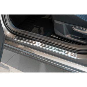 bross/é pour VW Passat B8 2015 UP Berline en Acier Inoxydable chrom/é Pare-Chocs arri/ère Protecteur de seuil de Protection Anti-Rayures