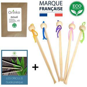 durables et /écologiques. 100/% biod/égradables Lot de 1000 cotons-tiges en bambou