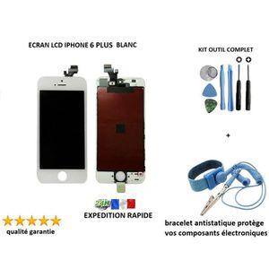 ECRAN DE TÉLÉPHONE Écran LCD APPLE IPHONE 6 PLUS BLANC, kit outil com
