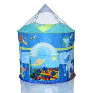 PISCINE À BALLES Pop Up Tente de jeu SPACESHIP enfant a la piscine