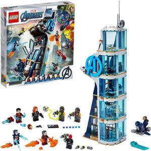 ASSEMBLAGE CONSTRUCTION LEGO® Marvel Super Heroes™ 76166 La tour de combat
