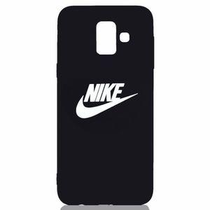 2 X Coque Samsung Galaxy J4 Plus 2018 Disney et Nike Doux
