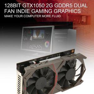 CARTE GRAPHIQUE INTERNE 128Bit Carte graphique GTX1050 GPU 2G GDDR5 PCI-E