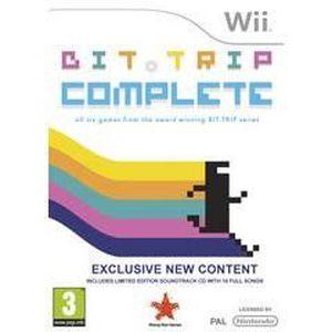 JEU WII Bit trip Complete