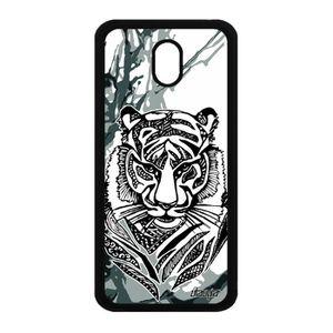 COQUE - BUMPER Coque Galaxy J5 2017 silicone tigre personnalisé e