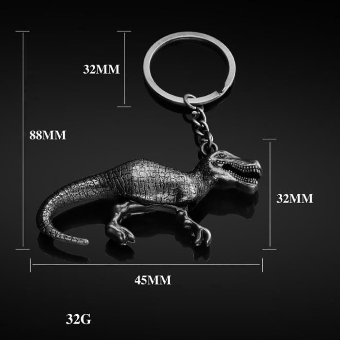 【porte-clés】Couple de dinosaure pendentif porte-clés pendentif clé de voiture_GT22223