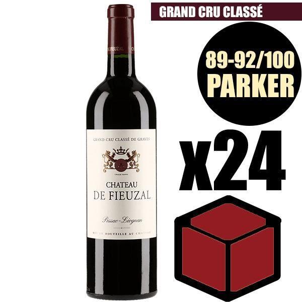 X24 Château Fieuzal 2009 75 cl AOC Pessac-Léognan Rouge Grand Cru Classé Vin Rouge