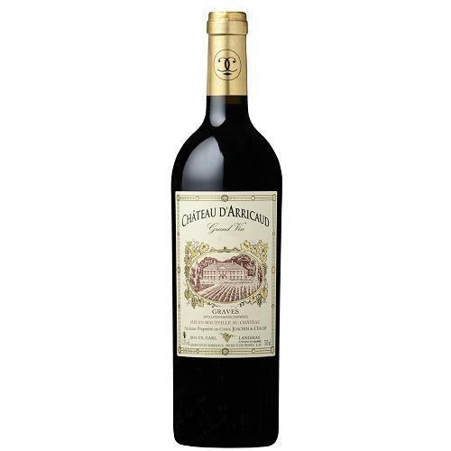 Grand Vin 2012 du Château d'Arricaud - 75cl - Graves rouge - Bordeaux