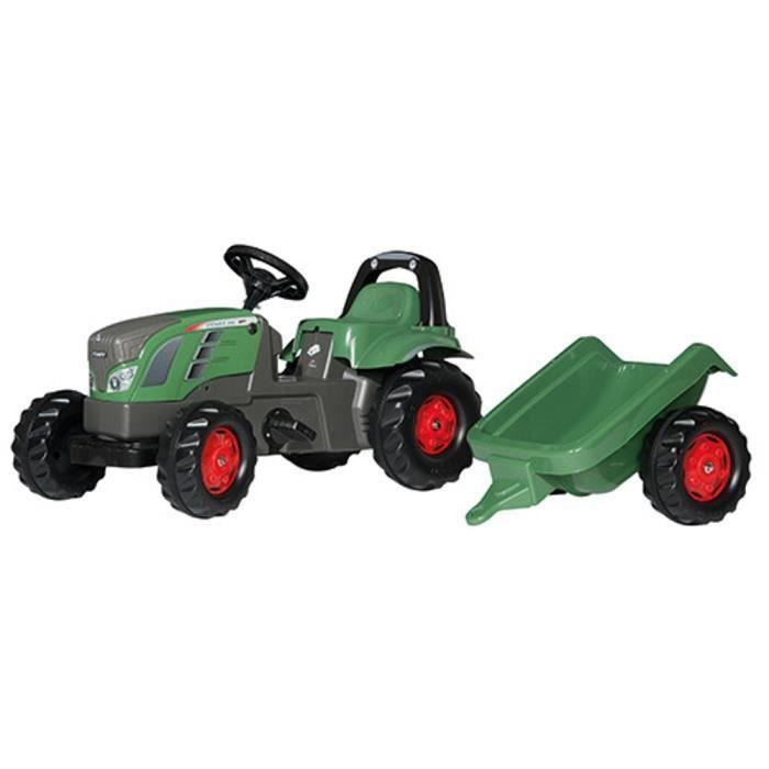 Voiture miniatures Rolly Toys RollyKid Fendt 516 Vario Tracteur + remorque